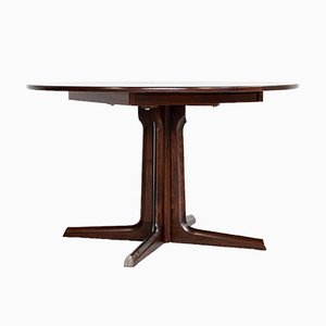 Mid-Century Danish Round Dining Table in Rosewood, 1960s
