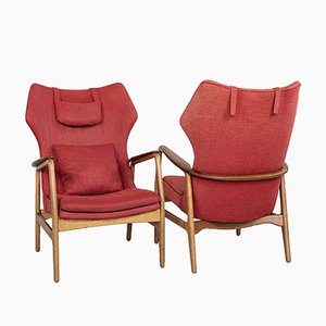 Mid-Century Lounge Chairs by Aksel Bender Madsen for Bovenkamp, 1960s, Set of 2