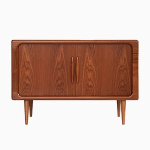 Mid-Century Danish Stereo Cabinet in Teak from Dyrlund, 1960s