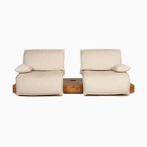 Free Motion Cremefarbenes 2-Sitzer Sofa von Koinor