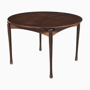 Tavolo in legno impiallacciato, Italia, anni '60