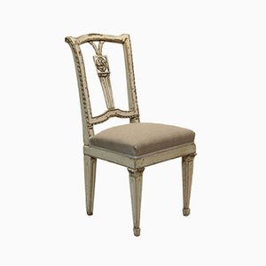Silla Louis XVI italiana antigua