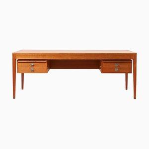 Large Diplomat Desk by Finn Juhl for France & Søn / France & Daverkosen, Denmark, 1960s