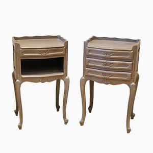 Painted Bedside Cabinets, Set of 2