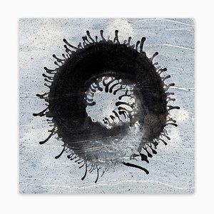 Stampa di James Godman, Bushwick Bullseye, 2017, Archival Pigment on Wood Canvas