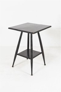19th Century Victorian Ebonised Occasional Table in the Style of E.W. Godwin