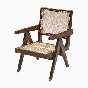 Mid-Century Modern Chandigarh Easy Chairs by Pierre Jeanneret