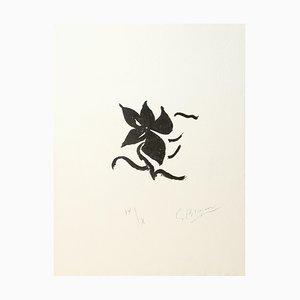 Impresión en papel Arches de Georges Braque, Fleurs, 1960