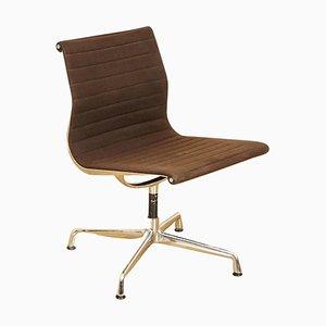 Sedia girevole nr. 938-138 in alluminio di Charles Eames per Vitra