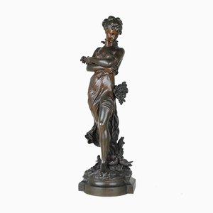 Alegoría de la primavera de bronce de Moreau, siglo XIX