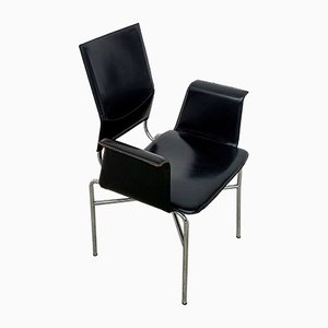 Leather Chairs from Matteo Grassi, 1970s, Set of 6