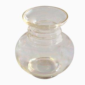Jugendstil Glass Vase Irisierend by Jean Beck München, 1900