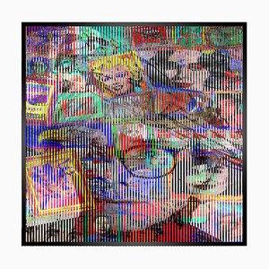 Patrick Rubinstein, Warhol Kinetic Art decoración de pared, 2018
