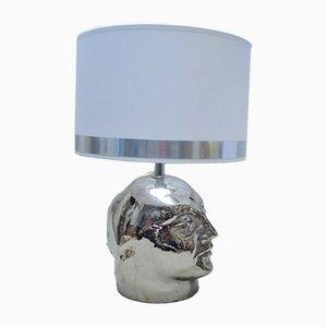 Metaphysische Keramik Janus Lampe, 1960er