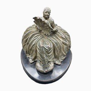 Damina in terracotta di Giuseppe Granello