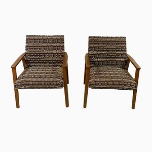 Easy Chairs, 1960s; Set of 2
