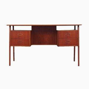 Teak Schreibtisch, Dänemark, 1970er