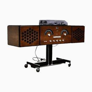 Radio Rr-126 estereofónica de f.lli Castiglioni para Brionvega, años 60