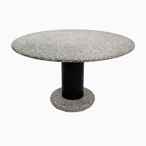 Tavolo da pranzo Lotorosso in granito di Ettore Sottsass per Poltronova, anni '60