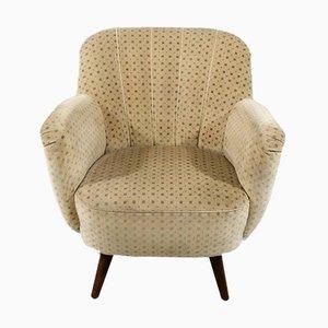 Velour Easy Chair, 1950s