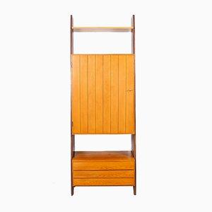 Estantería de pared de Erich Stratmann Idea Möbel, años 50