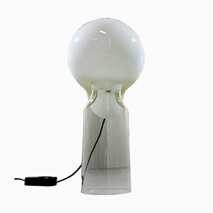 Glass Table Lamp by Gino Vistosi for Vetreria Vistosi, 1960s