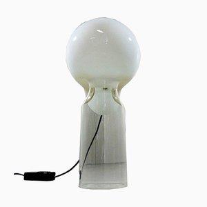 Tischlampe aus Glas von Gino Vistosi für Vetreria Vistosi, 1960er