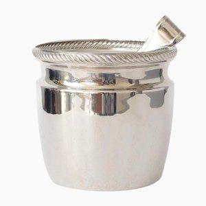 Mercurio Ice Bucket & Tongs from Alessi, 1970s