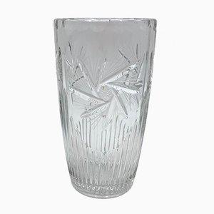 Crystal Vase, Poland, 1960s