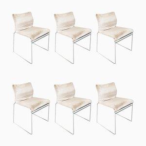 Italienische Mid-Century Tulu Stühle von Kazuhide Takayama für Cassina, 1960er, 6er Set