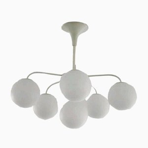 Sputnik Ceiling Lamp by E. R. Nele and Max Bill for Temde, 1960s