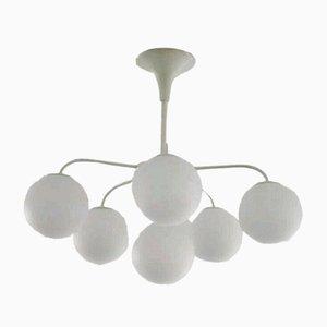 Sputnik Deckenlampe von ER Nele und Max Bill für Temde, 1960er