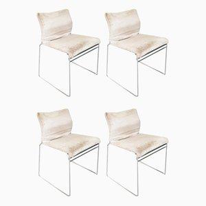Italienische Mid-Century Tulu Stühle von Kazuhide Takayama für Cassina, 1960er, 4er Set