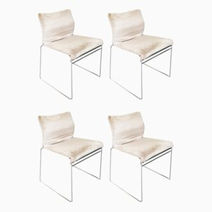 Mid-Century Italian Tulu Chairs by Kazuhide Takayama for Cassina, 1960s, Set of 4