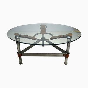 Coffee Table by Jacques Adnet, 1960s