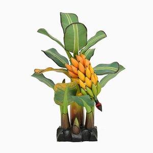 Südamerikanische geschnitzte Bananenbaum Skulptur aus Holz