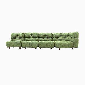 Modulares Sofa mit Ecke, 1970er, 4er Set