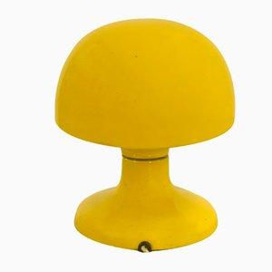Lampada da tavolo Jucker 147 gialla di Tobia & Afra Scarpa per Flos, anni '60