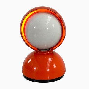 Rote Eclisse Tischlampe von Vico Magistretti für Artemide, 1960er