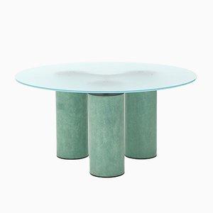 Runder Serenissimo Tisch von Lella und Massimo Vignelli für Acerbis, 1980er