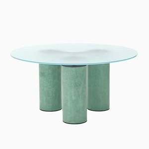 Serenissimo Circular Table by Lella and Massimo Vignelli for Acerbis, 1980s