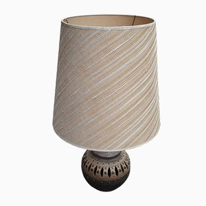 Large Ceramic Lamp in the Style of Georges Pelletier, 1950s
