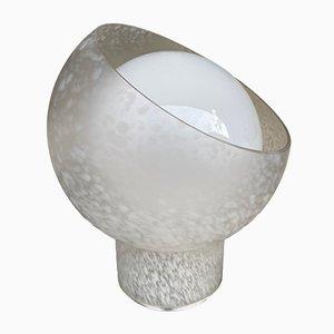 Italian Moon Lamp in Murano Glass from Mazzega., 1970s