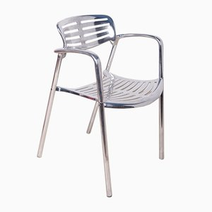 Aluminium Stackable Chairs by Jorge Pensi for Amat 3, 1980s