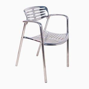 Chaises Empilables en Aluminium par Jorge Pensi pour Amat 3, 1980s
