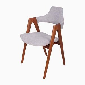 Compass Dining Chairs by Kai Kristiansen for SVA Møbler, 1960s, Set of 6