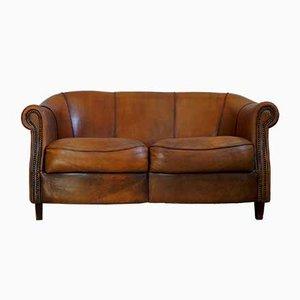 Schafsleder Zwei-Sitzer Sofa von Joris, 1980er