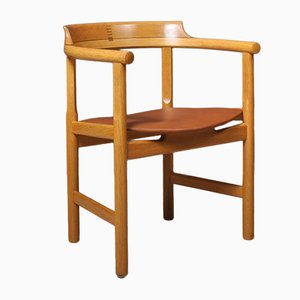 Oak Dining Chairs by Hans J. Wegner for PP Møbler, Set of 4