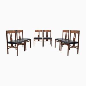 Dining Chairs by Titina Ammannati & Giampiero Vitelli for Rossi Di Albizzate, 1970s, Set of 6