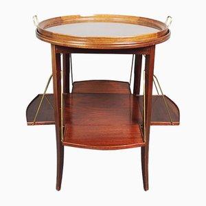 English Mahogany Tea Table